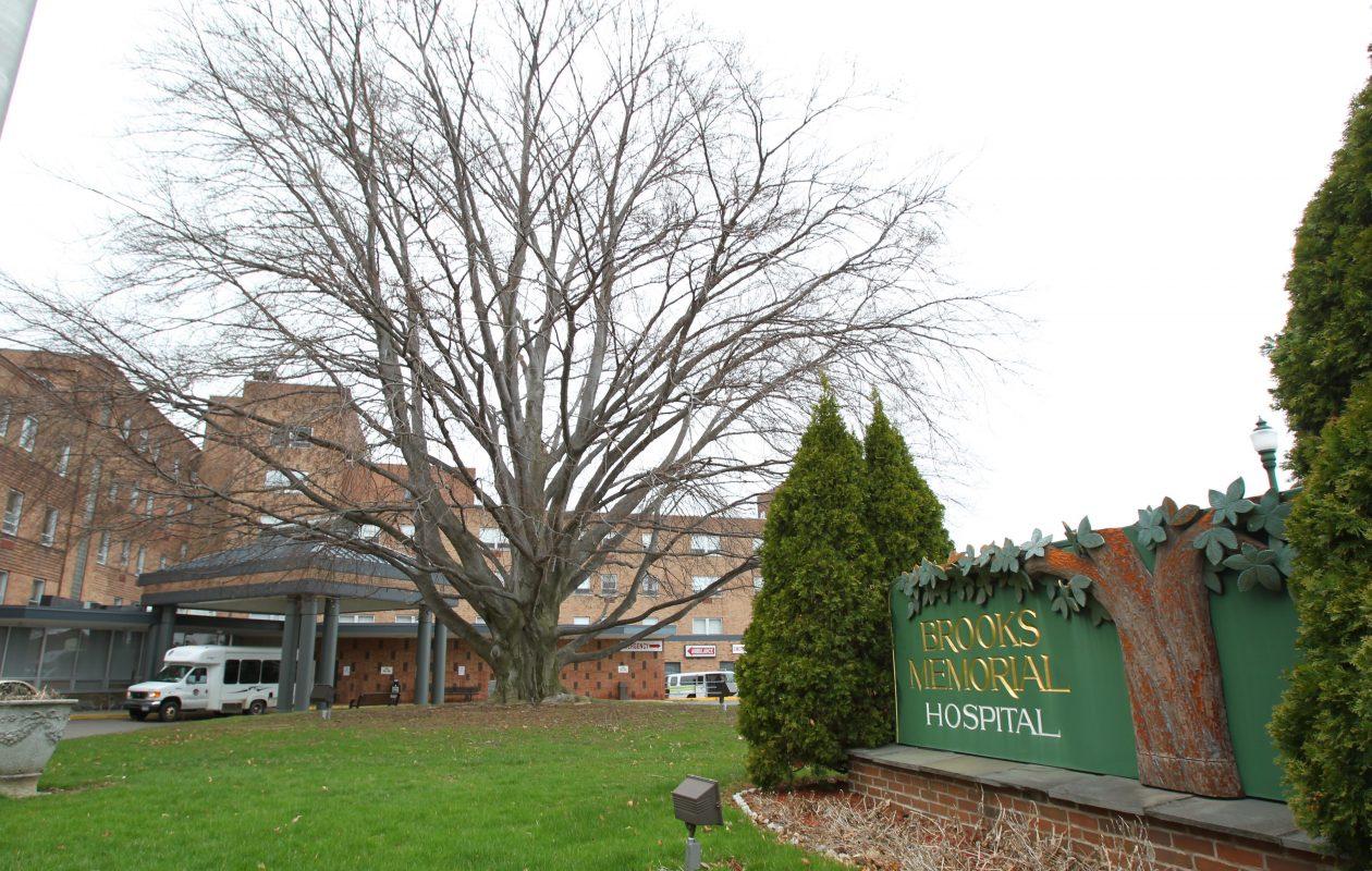 Brooks Memorial Hospital in Dunkirk. (Mark Mulville/Buffalo News)