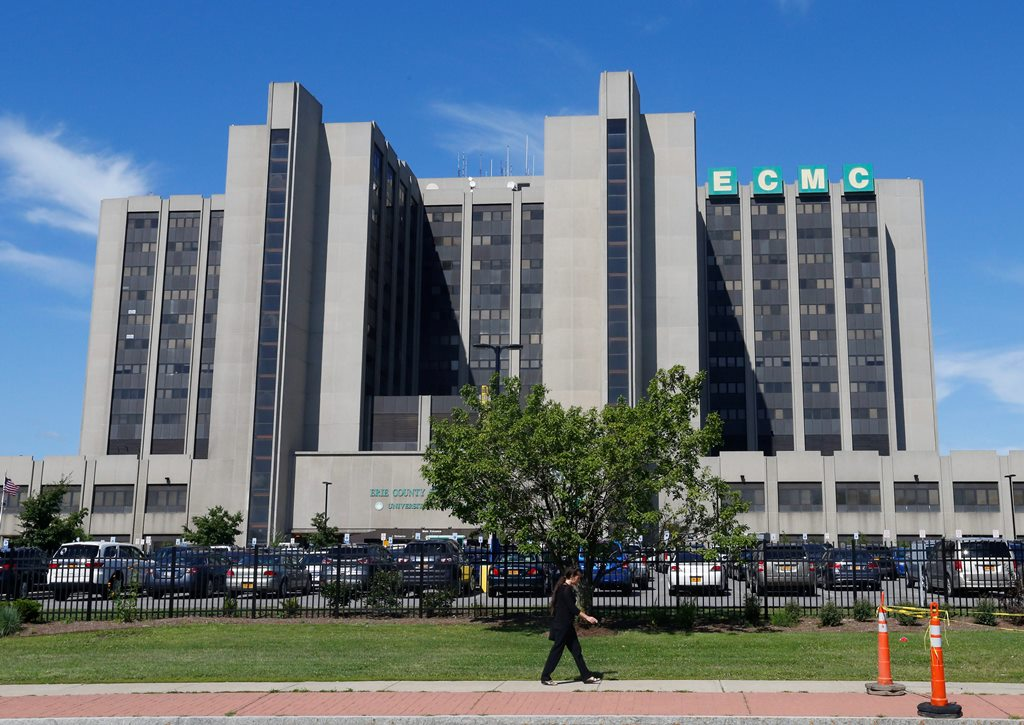 A ransonware attack took down more than 6,000 computers at ECMC earlier this year. (Buffalo News file photo)