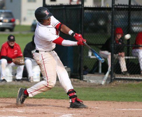 LG Castillo of Lancaster ranks with the nation's best high school baseball players. (James P. McCoy/Buffalo News)