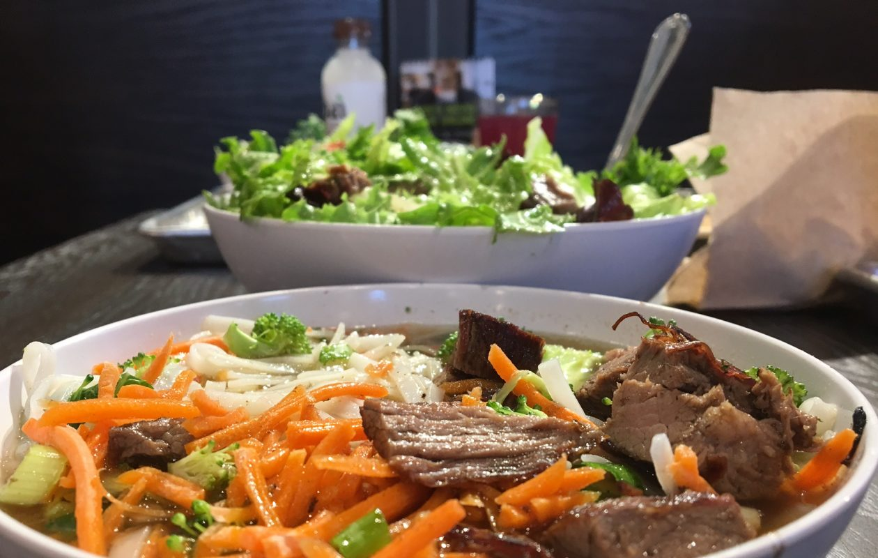 """Coming into our store, you can't buy an unhealthy meal. There's no temptation that will cause you to make a mistake in how you eat,"" CoreLife Eatery co-owner Todd Mansfield says. The Syracuse-based chain will open its second WNY location next weekend and has a pre-opening fundraiser planned for Wednesday. (Scott Scanlon/Buffalo News)"
