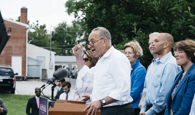 Schumer embraces progressive economics, as Democrats lay out agenda