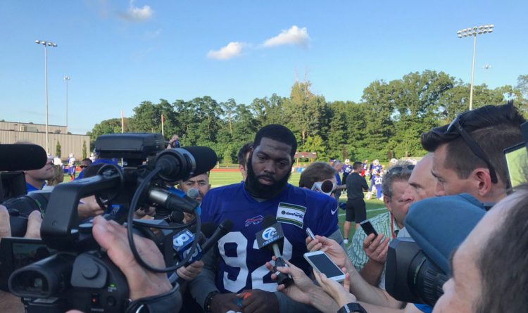 Adolphus Washington addresses media for first time since arrest