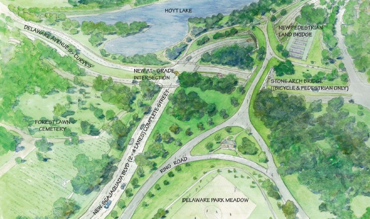 On Scajaquada, Olmsted Parks Conservancy wants to 'correct 1950s mistake'