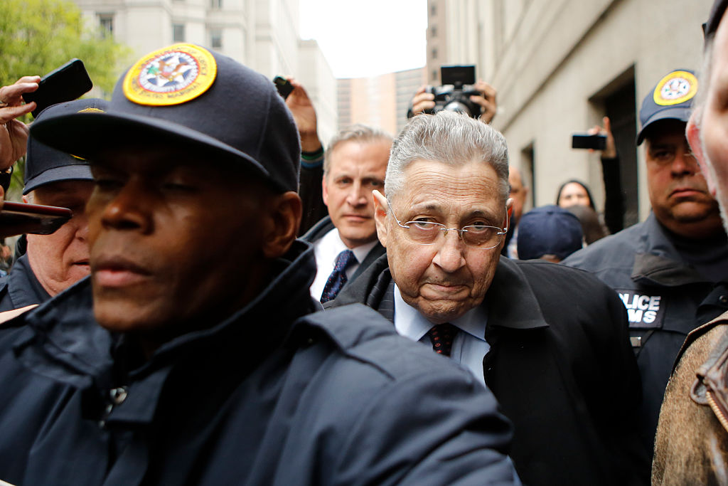 Former Assembly Speaker Sheldon Silver, shown in 2016, is being retried on public corruption charges after his previous conviction was overturned. (Getty Images)