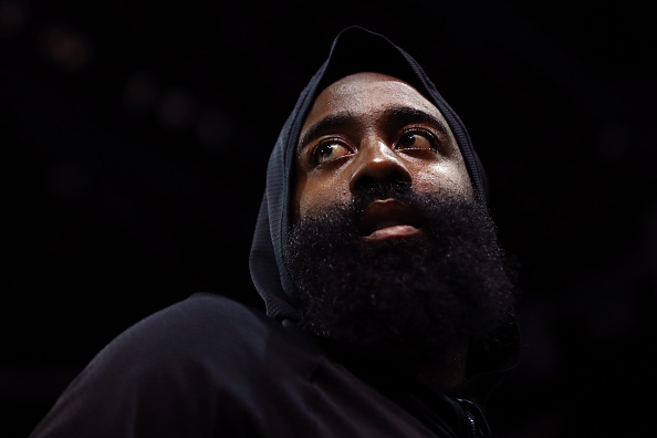 James Harden signed a four-year contract extension worth $160 million with the Rockets. (Getty Images)
