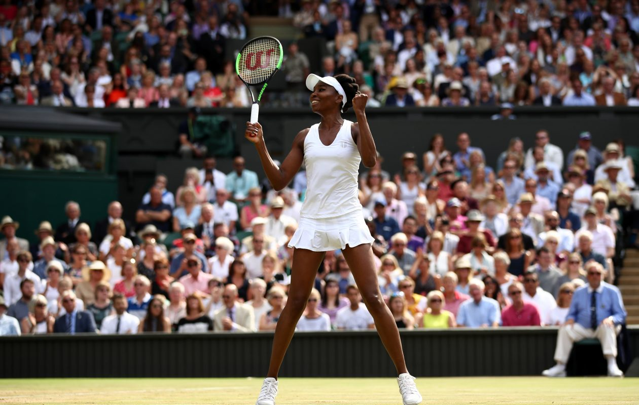 Venus Williams reached the final at Wimbledon for the first time since 2008.  (Getty Images)