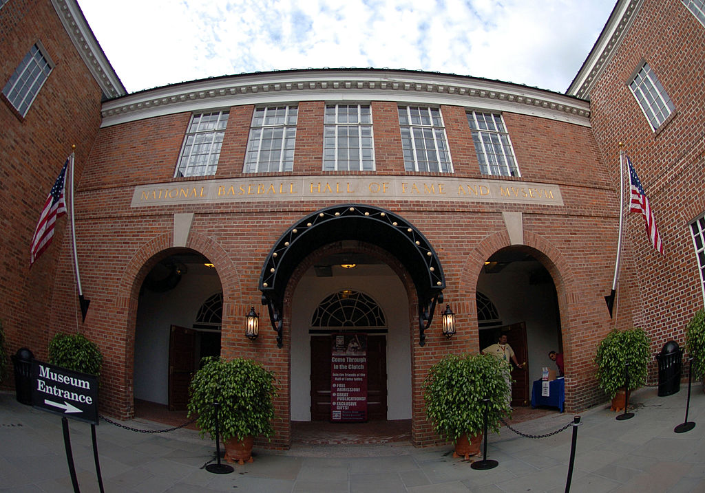 The Baseball Hall of Fame and Museum. (Getty Images)