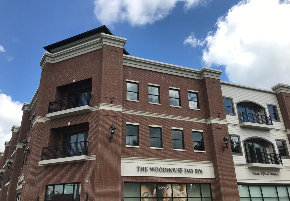 The Lymstone Lofts building has retail on the first floor and 20 upscale apartments on the upper floors. (Photo courtesy Bevilacqua Development)