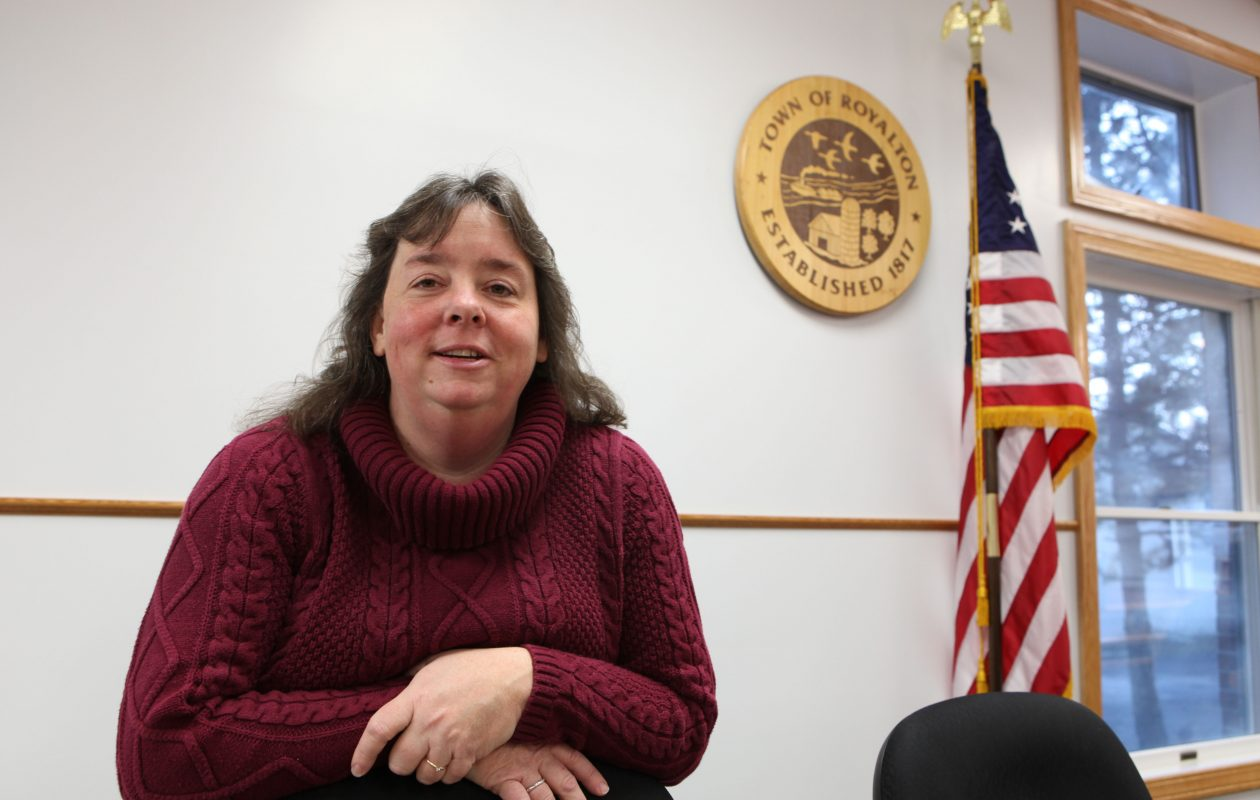 Town of Royalton Supervisor Jennifer Bieber at Town Hall in a Dec. 20, 2011 photo. {File photo / The Buffalo News}