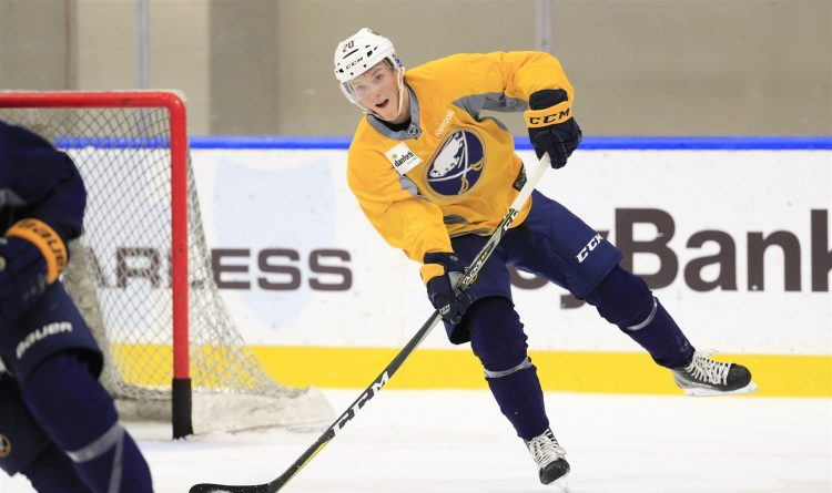 Mystery draft pick revealed: Laaksonen gets his chance at Sabres camp