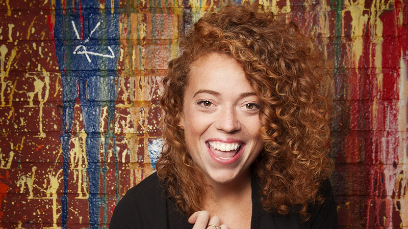 Michelle Wolf will perform in Buffalo for the first time with five shows at Helium. (Photo by Mindy Tucker)
