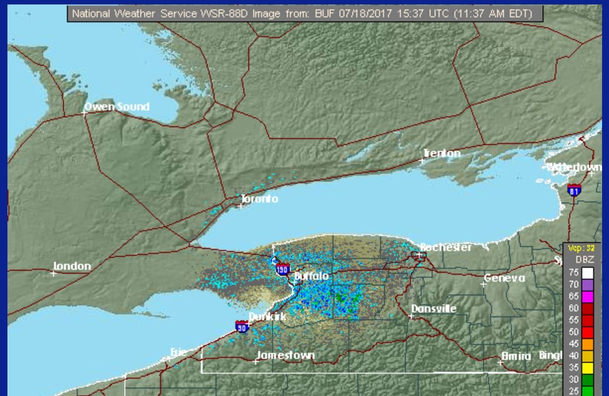 Buffalos Weather Radar Rotated For  Years Before It Broke Last - National weather map and radar