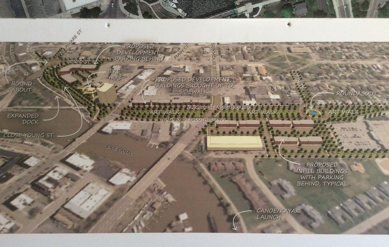 City of Tonawanda draft streetscape plan for Niagara Street