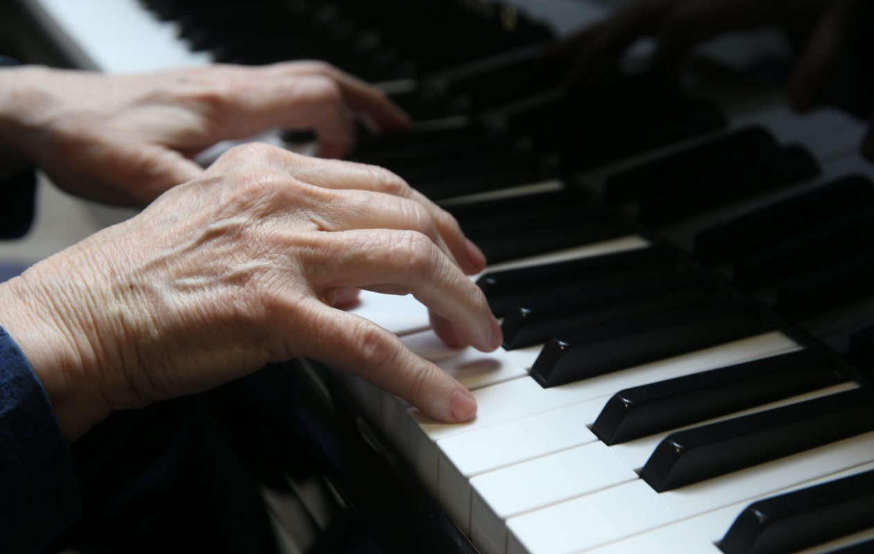 Health and wellness practitioners use music to help those struggling with physical and mental illness, undergoing medical testing or recovering from a stroke. Dementia patients have benefited from the ability of familiar songs to stir brain activity. It is sometimes used to ease painful health conditions and addiction. (John Hickey/Buffalo News)