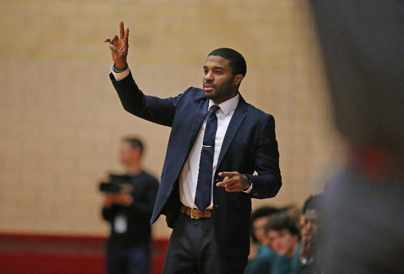 Desmond Randall will have a short commute to his new basketball coaching job at West Seneca West. (File photo by Harry Scull Jr.)