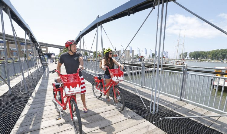 Reddy Bikeshare offers half-price discount on member rate