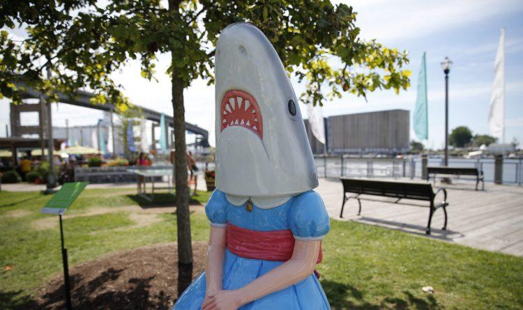 Bucky Gleason's Power Take: Shark Girl took the bait