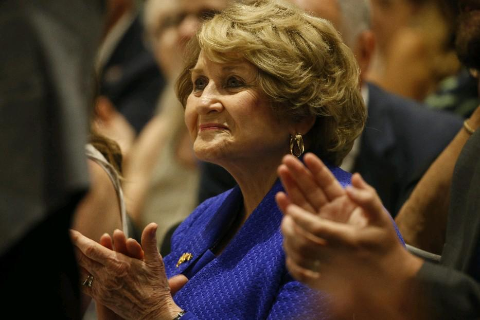 Louise Slaughter (News file picture)