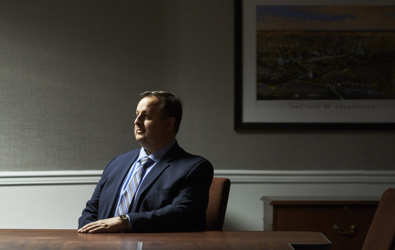 Walter Shaub, director of the Office of Government Ethics, in Washington, May 22, 2017. (T.J. Kirkpatrick/The New York Times)