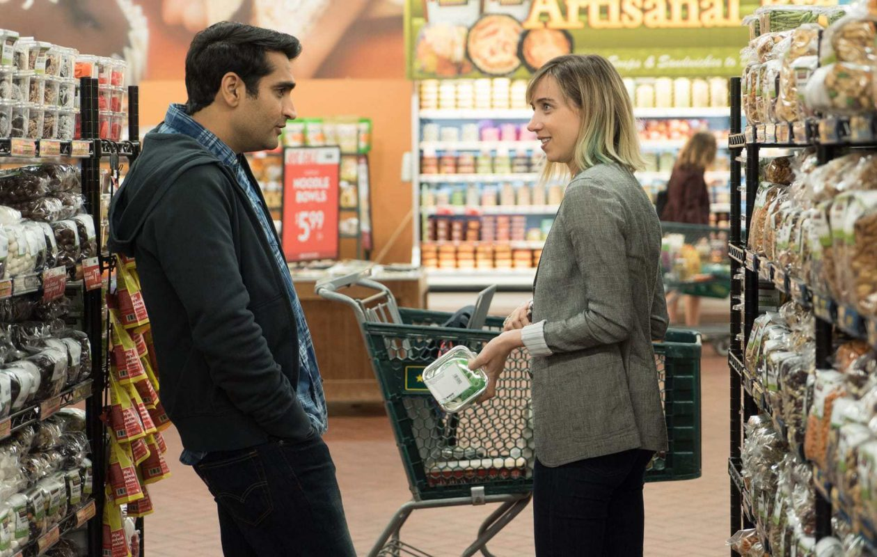 "Kumail Nanjiani and Zoe Kazan star in ""The Big Sick."""
