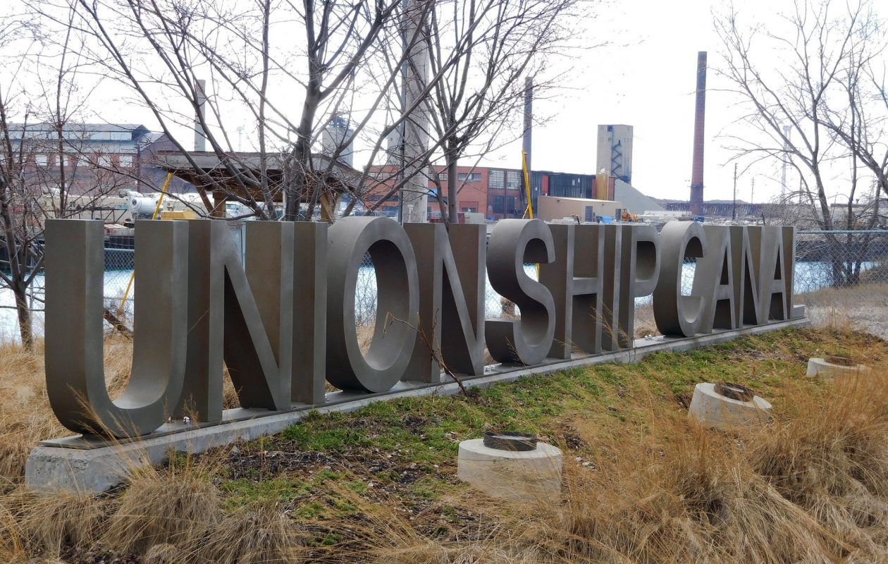 The Shoreline Trail ends (or begins) at the Union Ship Canal just north of Lackawanna.