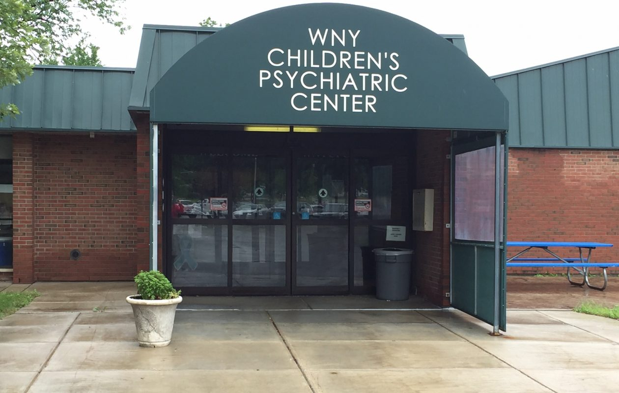 Supporters want the Western New York Children's Psychiatric Center to remain in West Seneca.  Barbara O'Brien /Buffalo News)