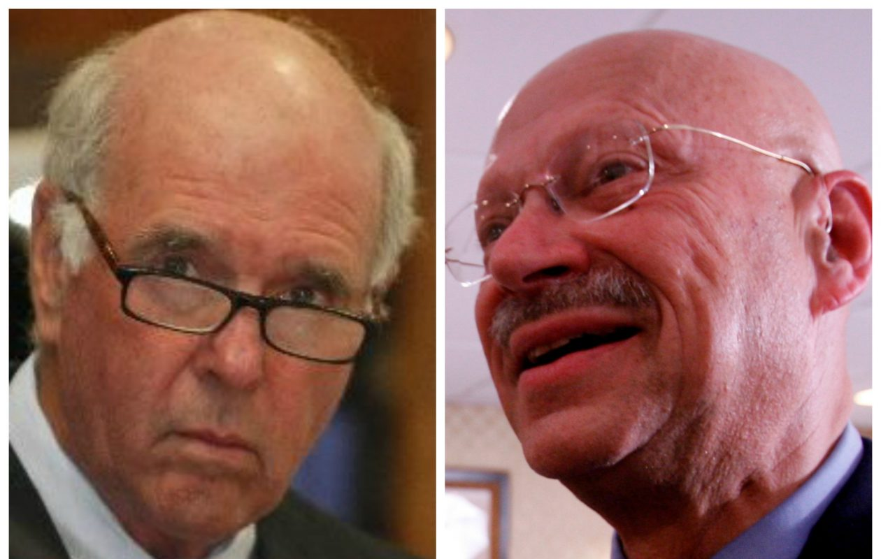 Amherst Town Supervisor Barry Weinstein and Zoning Board of Appeals member David Pollack. (News file photos)