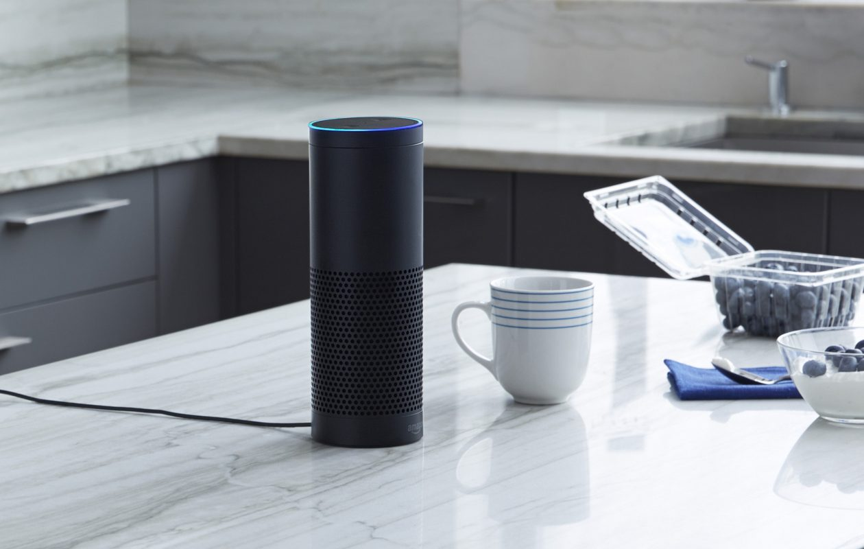 The Amazon Echo devices at Westin Buffalo will be managed with hospitality-specific software. (Amazon/TNS)