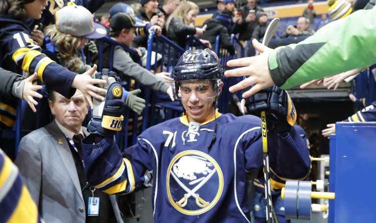 Sabres sign left winger Evan Rodrigues on two-year deal