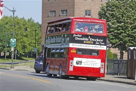 Buffalo's New Double-Decker Tour Bus