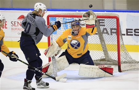 Buffalo Sabres summer development camp 3-on-3 tournament