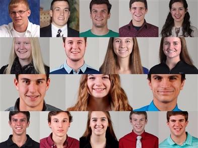 2016-17 Three-Sport All-WNY Scholar Athletes