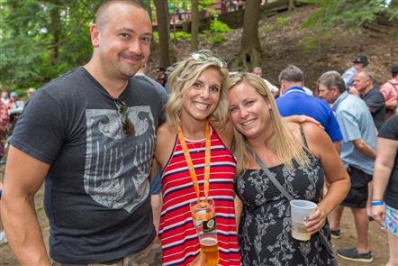 Smiles at Waldfest at Spring Garden