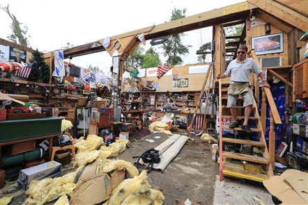 Tornadoes leave trail of damage in their wake