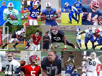 Bills training camp: Booms & busts over the years