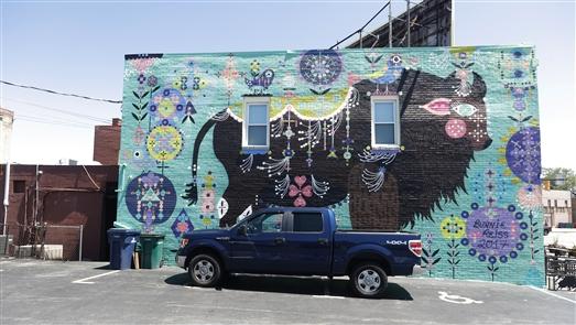 New murals to explore