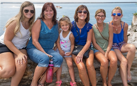 Smiles at Thunder at the Outer Harbor