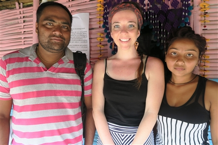 Buffalo teacher travels to refugee camp in Nepal