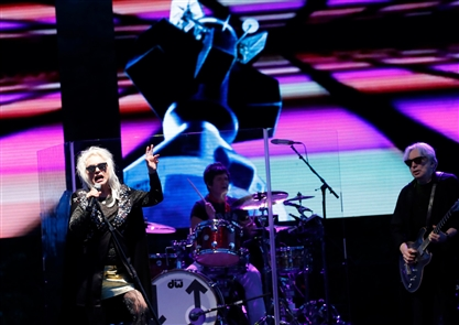Blondie in concert at Artpark