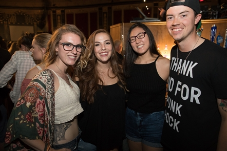 Smiles at All Time Low at Rapids Theatre