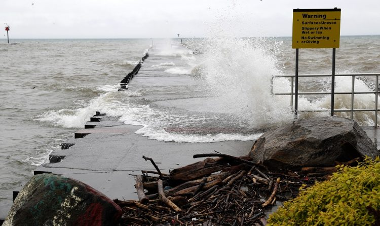 Little flooding, but erosion reported along Lake Ontario