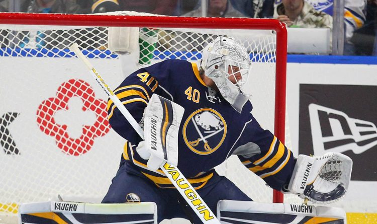 Sabres sign goalie Robin Lehner to one-year contract worth $4 million