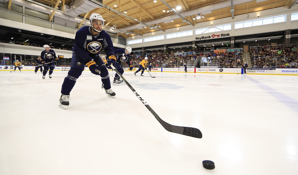 Nick Baptiste has improved his game in the little areas. (Harry Scull Jr,/File Photo)