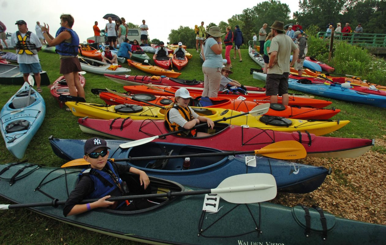 The annual Paddles Up Niagara will take place July 29 at Beaver Island State Park on Grand Island. (Buffalo News file photo)