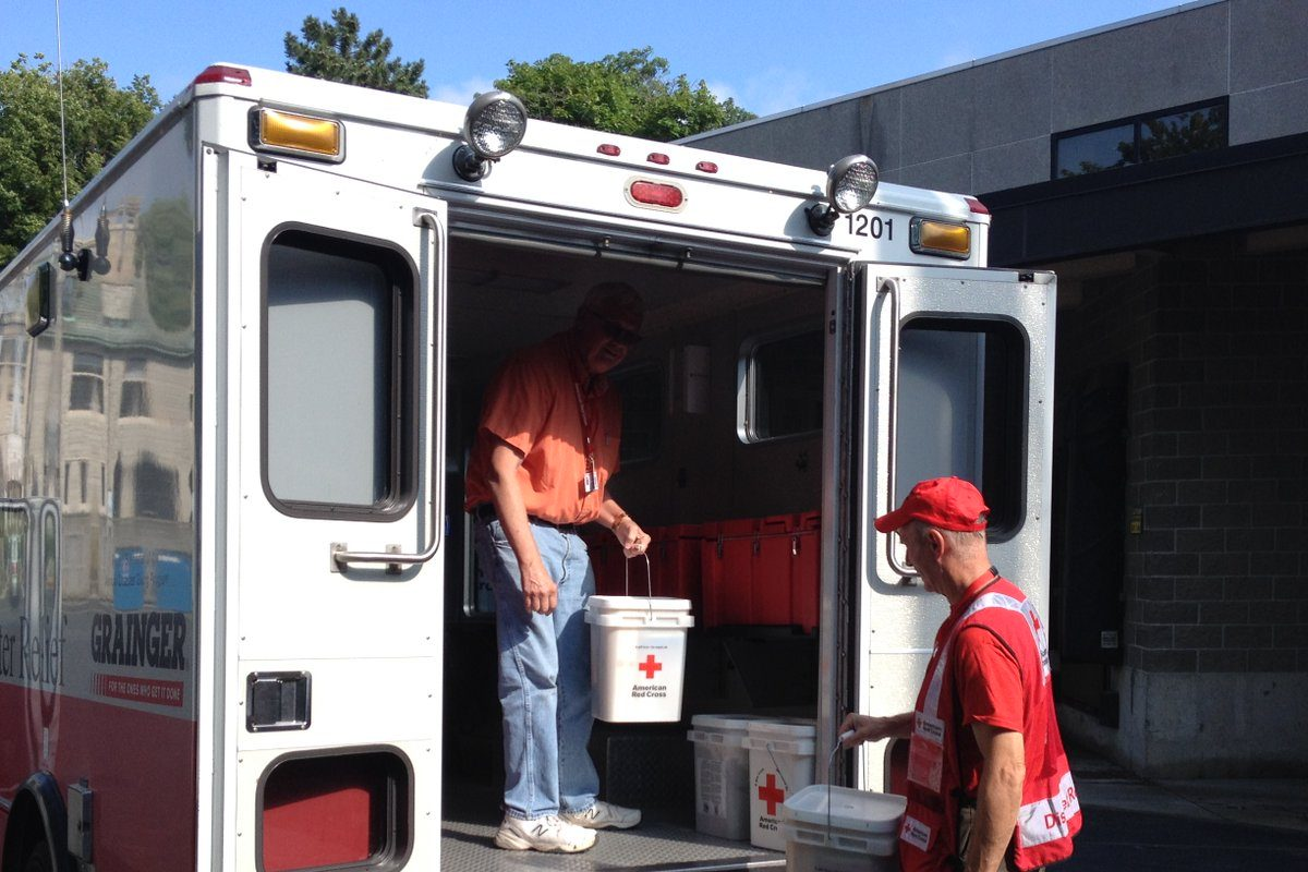 Red Cross volunteers are planning to hand out clean up supplies in areas affected by Thursday's flooding in Western New York. (Provided by Greater Buffalo American Red Cross)