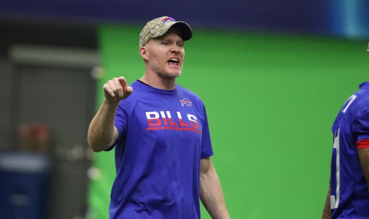 Sean McDermott on first camp with Bills: 'My hand will be on the back of this team at all times'