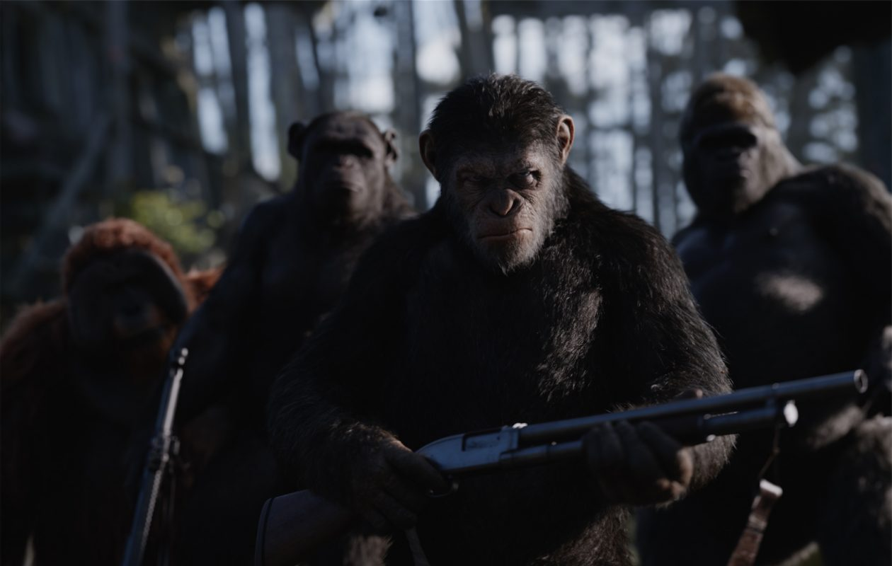 "The battle between the humans and the apes continues in ""War for the Planet of the Apes."""