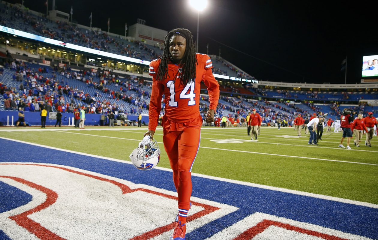 Sammy Watkins is now a former Buffalo Bill. Is that a good thing? (Harry Scull Jr./News file photo)