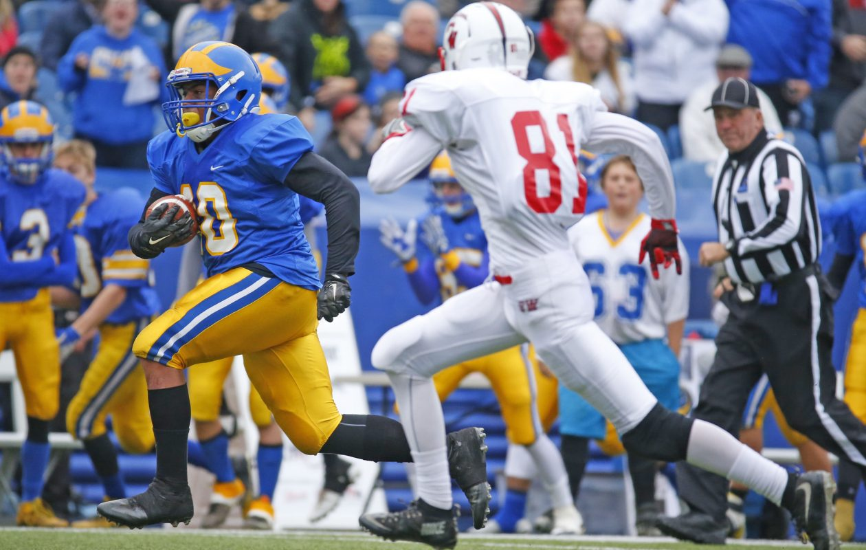 Running back Aaron Wahler returns for reigning Section VI champion Cleveland Hill. (Harry Scull Jr./Buffalo News)