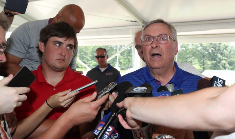 Terry Pegula says Bills are 'not in any planning' for a new stadium